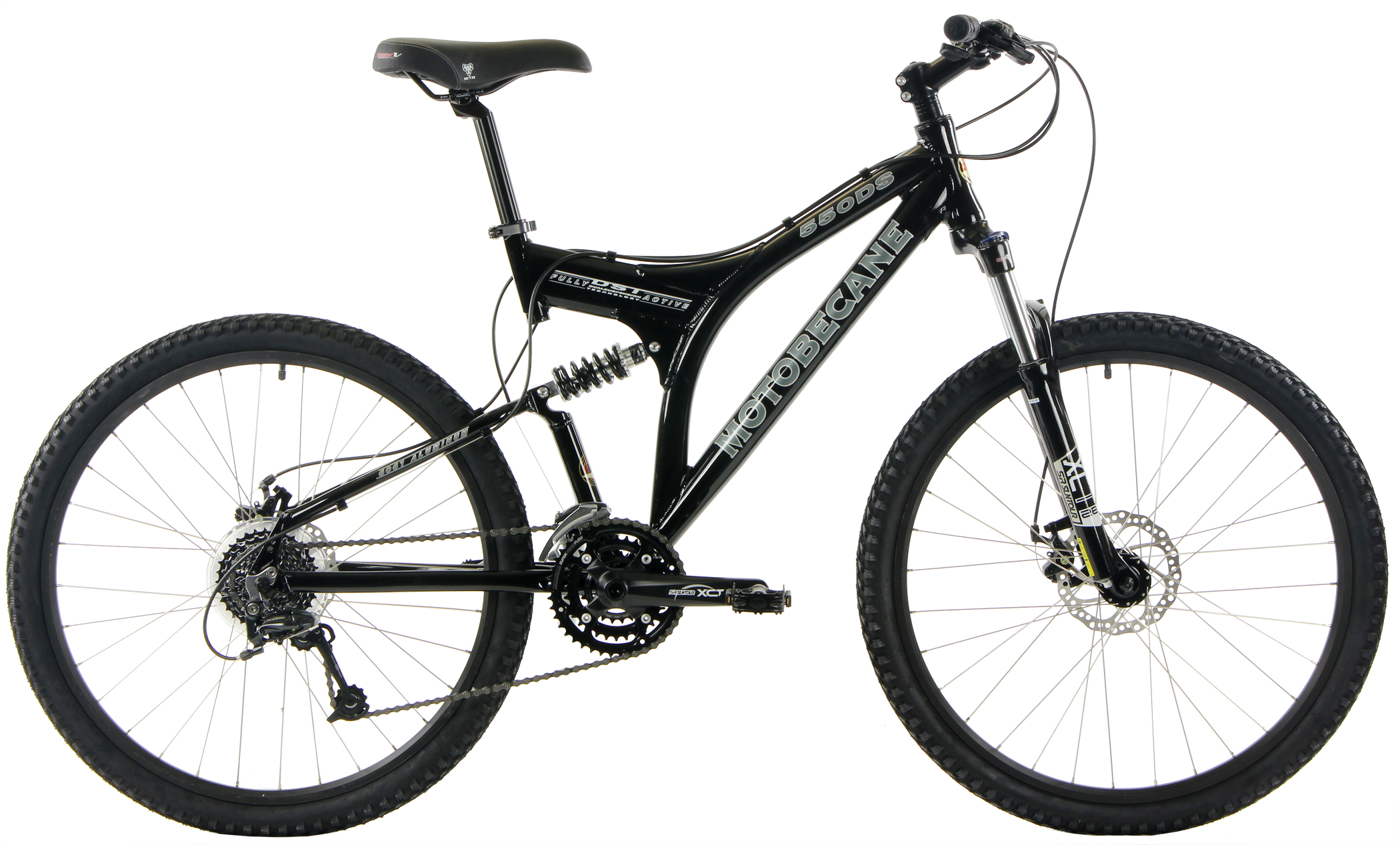 550DS - ALUMINUM FULL SUSPENSION 24sp SHIMANO w/ DISC