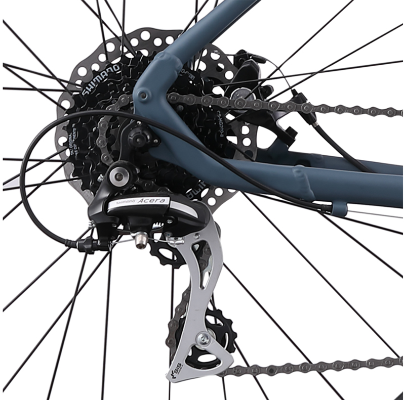 DIVISION 1 - SHIMANO 1by8 ALUMINUM CITY SPORT BIKE
