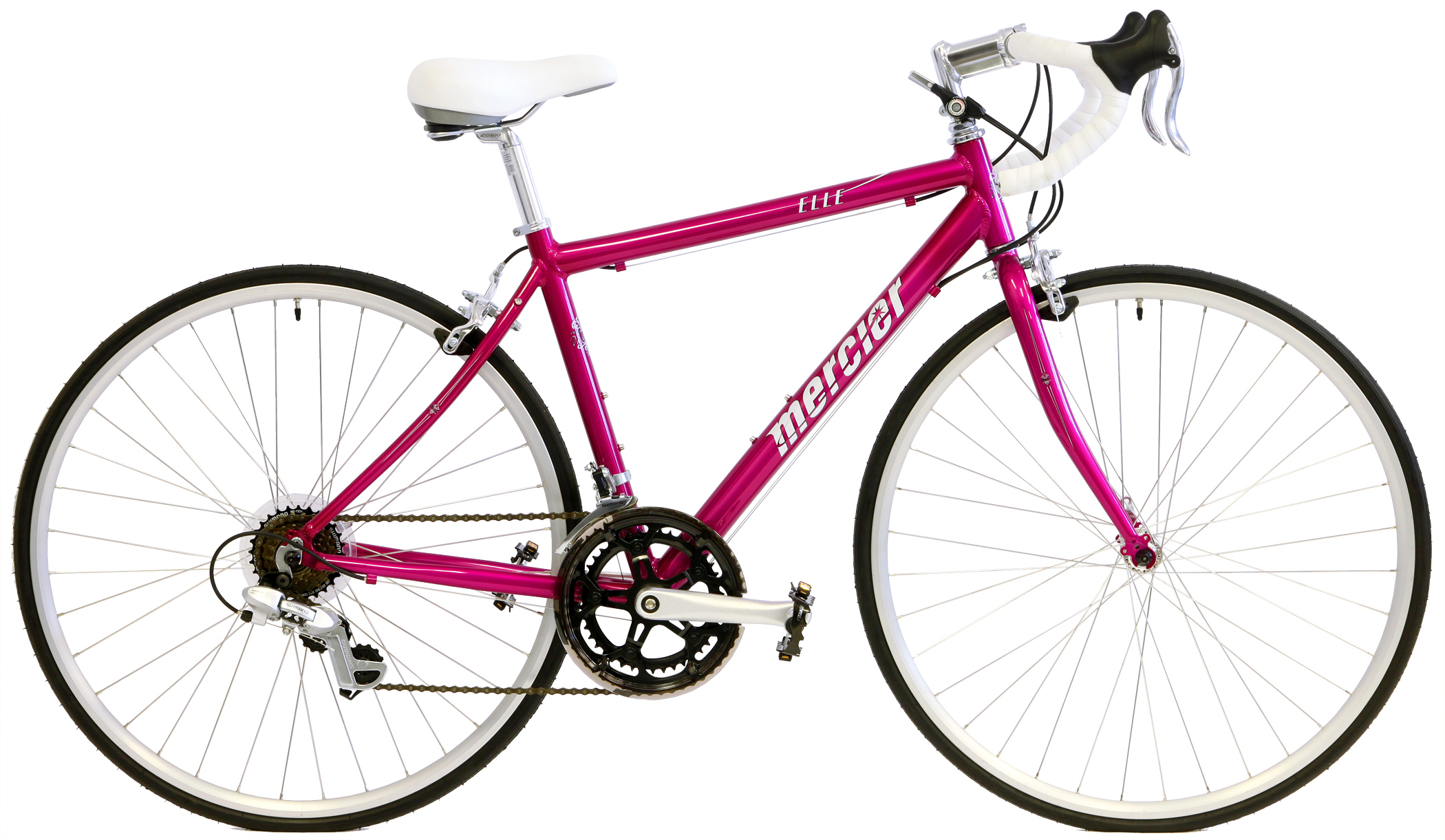 ELLE SPORT    - WOMEN'S ALUMINUM 14sp ROAD BIKE w/ SHIMANO
