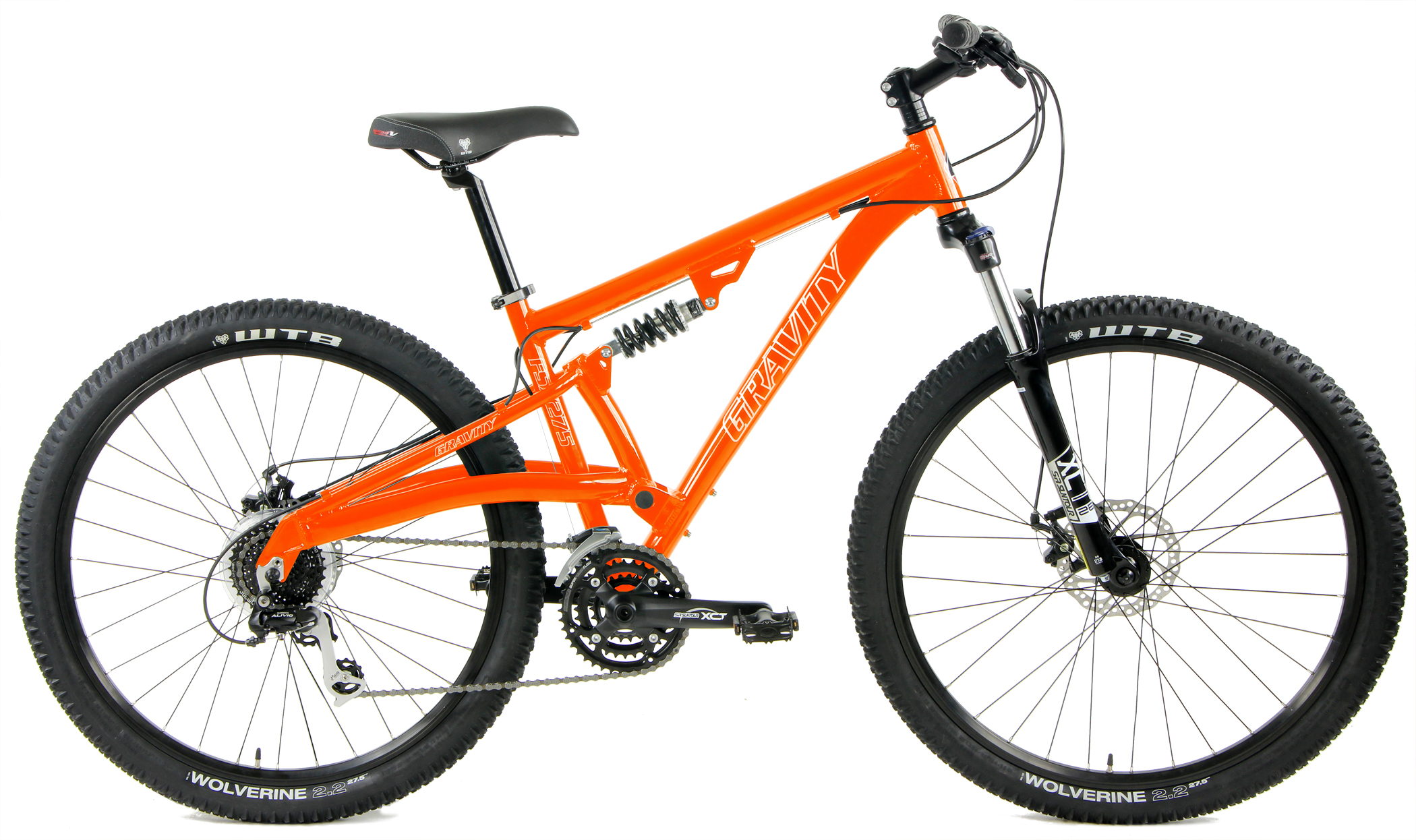 FSX 275 LTD - SHIMANO 24sp FULL SUSPENSION 27.5 w/ DISC