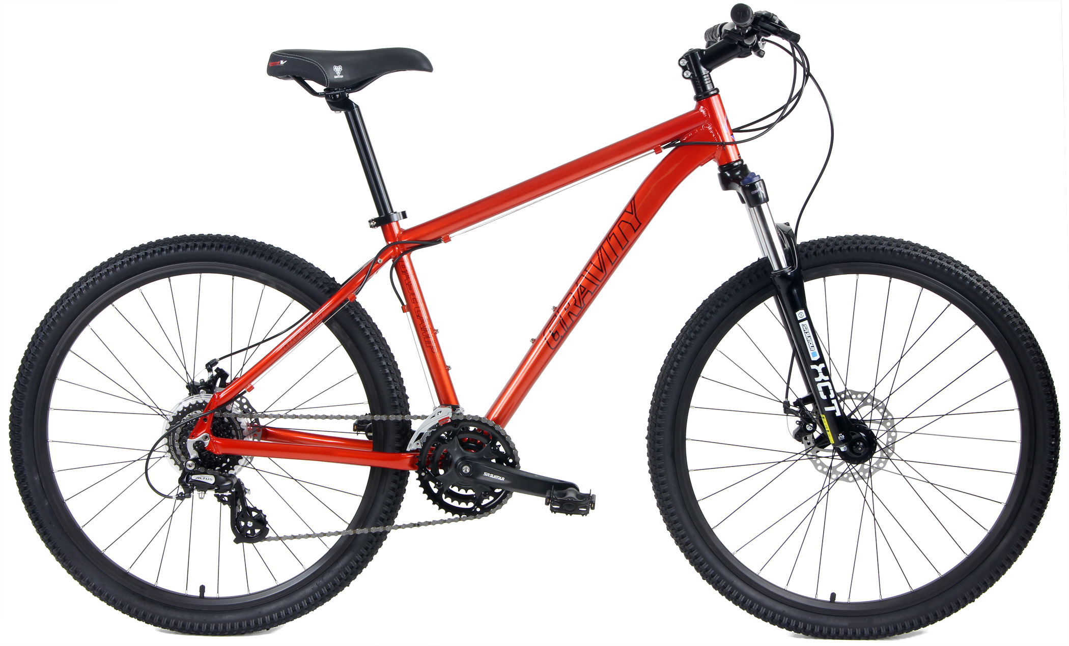 BASECAMP 27.5 - ATB w/ DISC BRAKES & 27.5 WHEELS