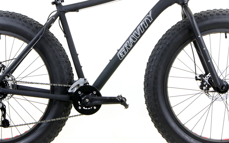 BULLSEYE MONSTER FIVE    - FAT BIKE w/ DISC BRAKES