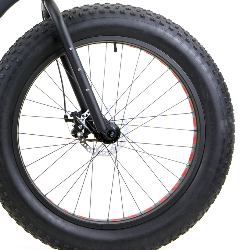BULLSEYE MONSTER FIVE-X      - FAT BIKE w/ HYDRAULIC DISC BRAKES