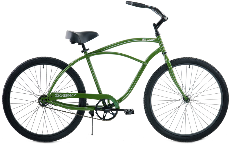 EZ CRUZ  - SINGLE SPEED COMFORT CRUISER