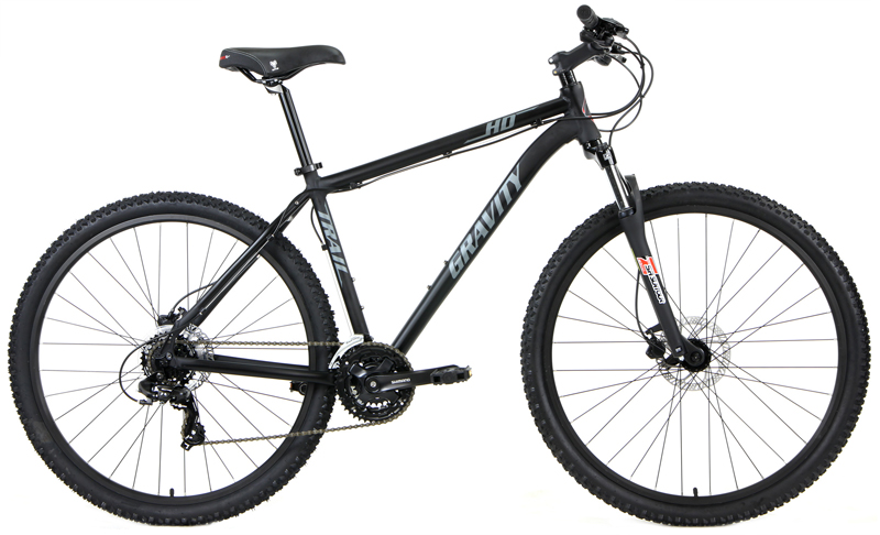 HD27.5 TRAIL    - 27.5in WHEELS, SHIMANO,  w/ HYDRAULIC DISC