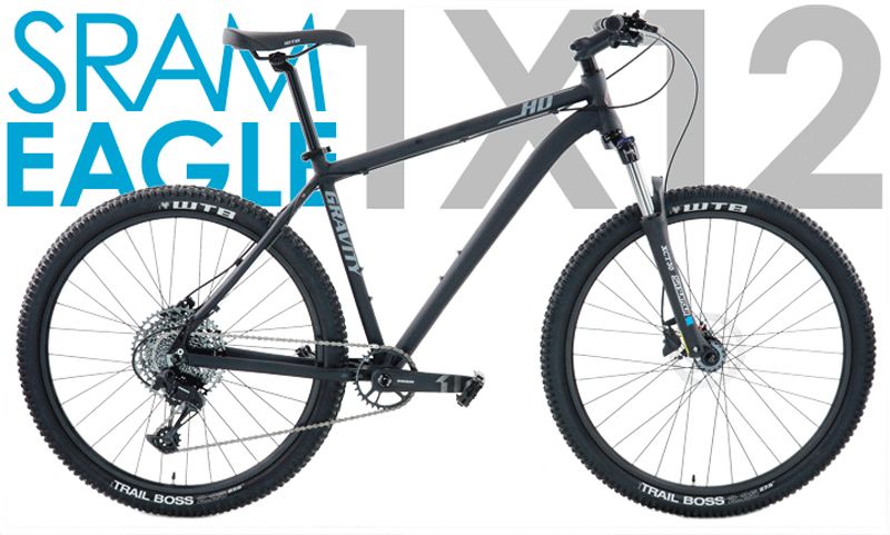 HD27.5 SX EAGLE - 27.5in SRAM 1 x 12 w/ HYDRAULIC DISC BRAKES