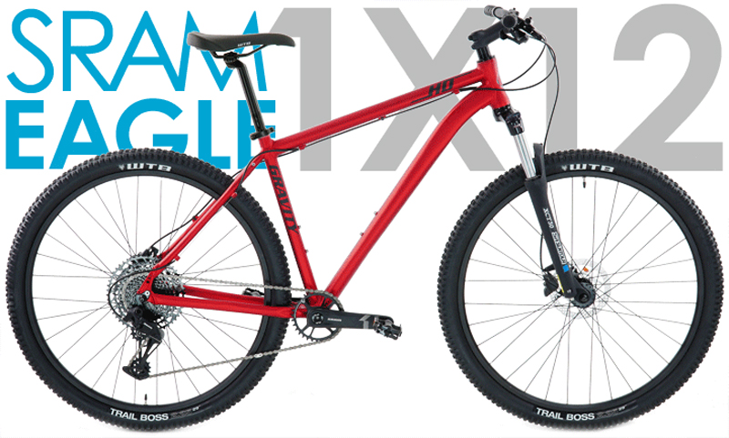 HD29 SX EAGLE - 29in SRAM 1 x 12 w/ HYDRAULIC DISC BRAKES