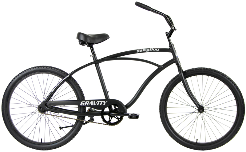 SALTY DOG - LIGHTWEIGHT ALUMINUM SINGLE SPEED CRUISER