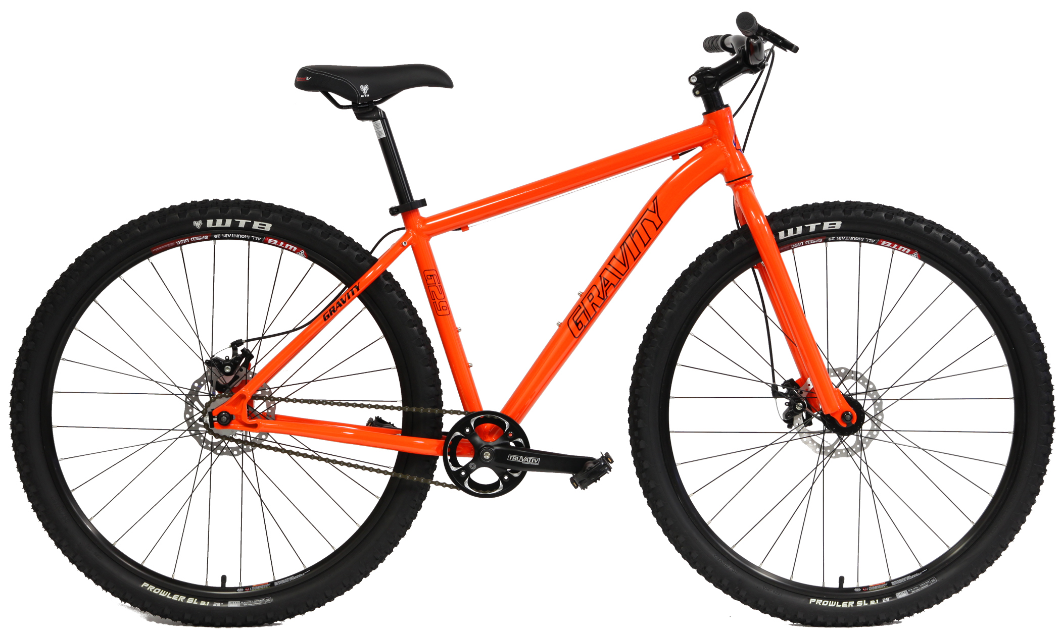 G29  - SINGLE SPEED ALUMINUM ATB w/ DISC BRAKES