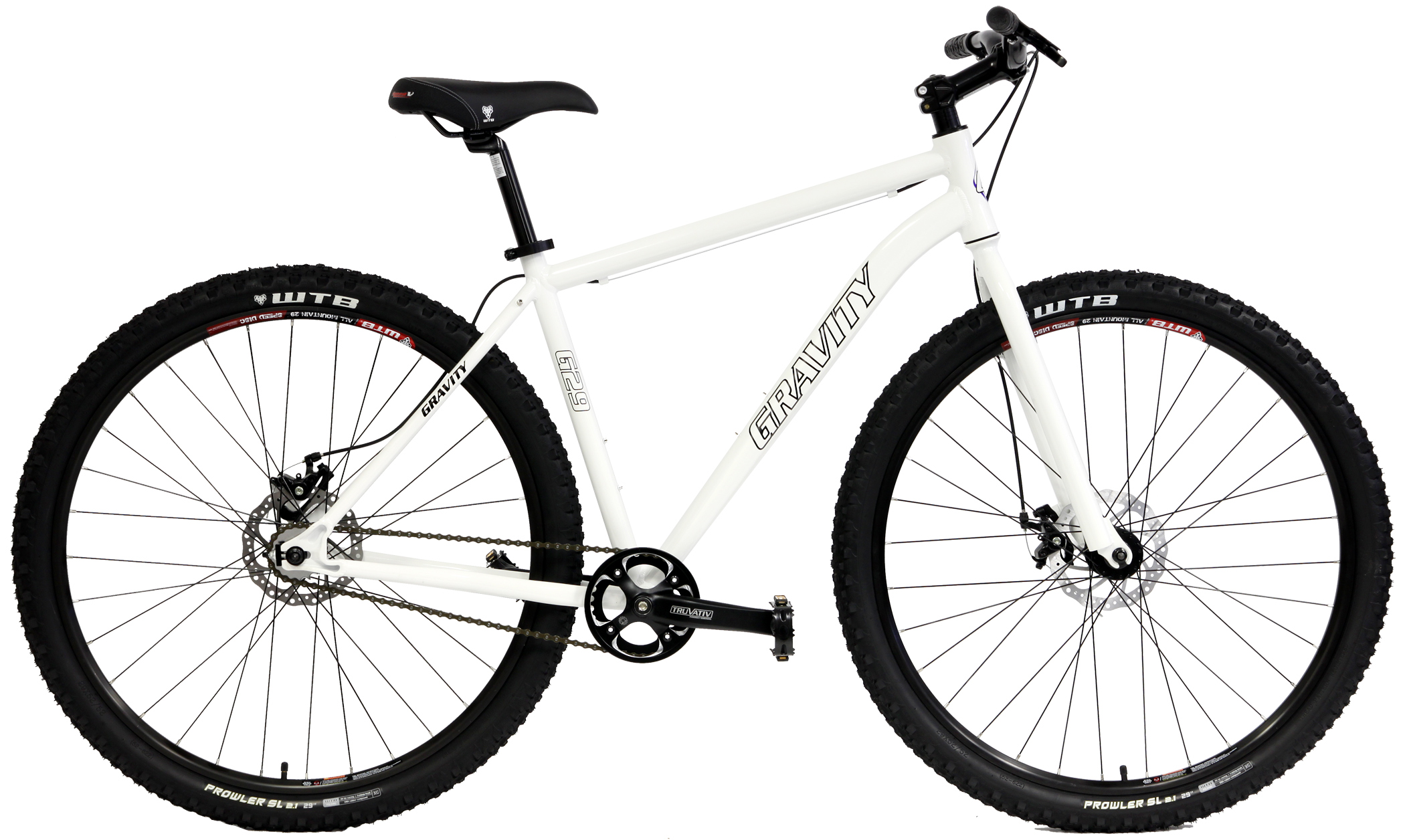 X-Sold Out   GRAVITY G29   G29   SINGLE SPEED ALUMINUM ATB w/ DISC ...