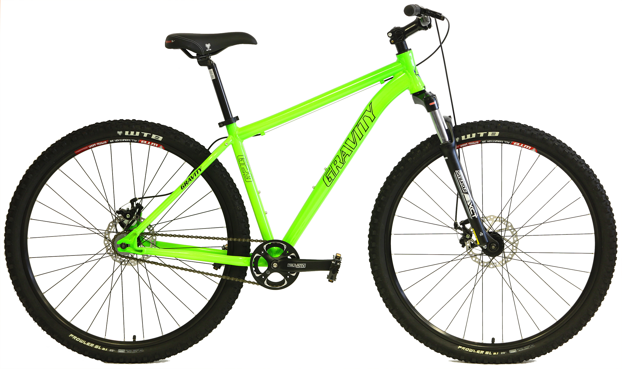 G29 FS - SINGLE SPEED ALUMINUM  ATB w/ DISC BRAKES & SHOCK