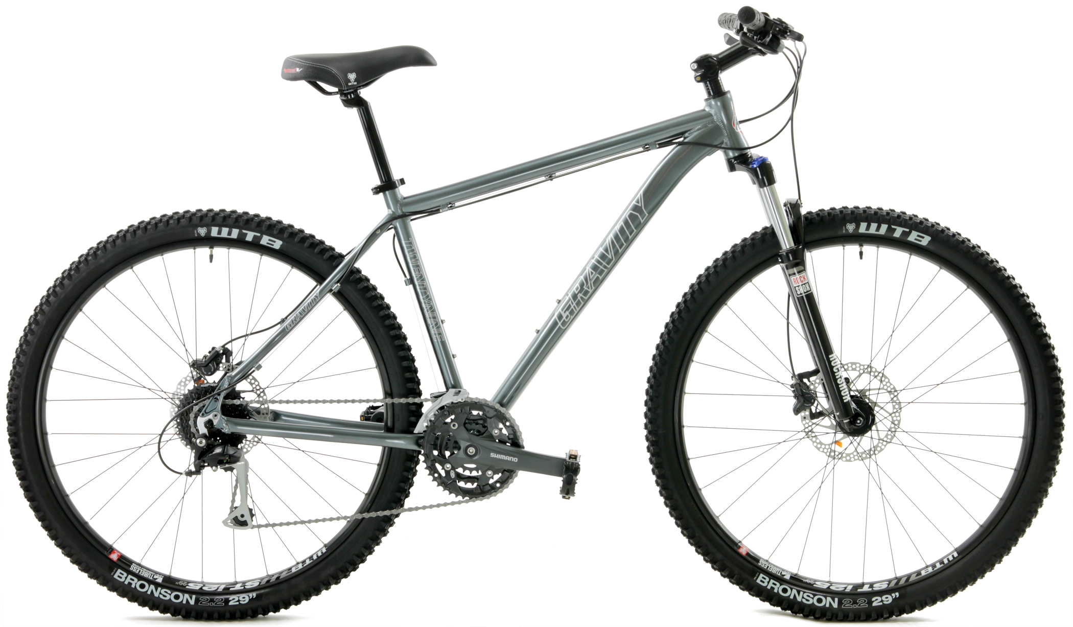 29.3  - ALUMINUM 27sp SHIMANO <br>w/ HYDRAULIC DISC BRAKES
