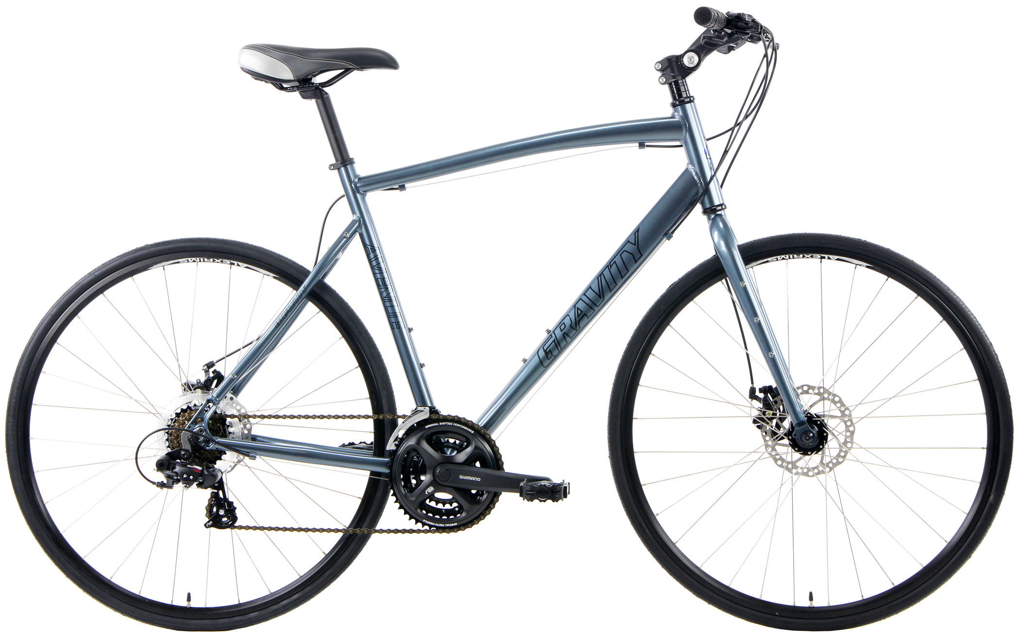 AVE FXD - SHIMANO 21sp FLAT-BAR  w/ DISC BRAKES