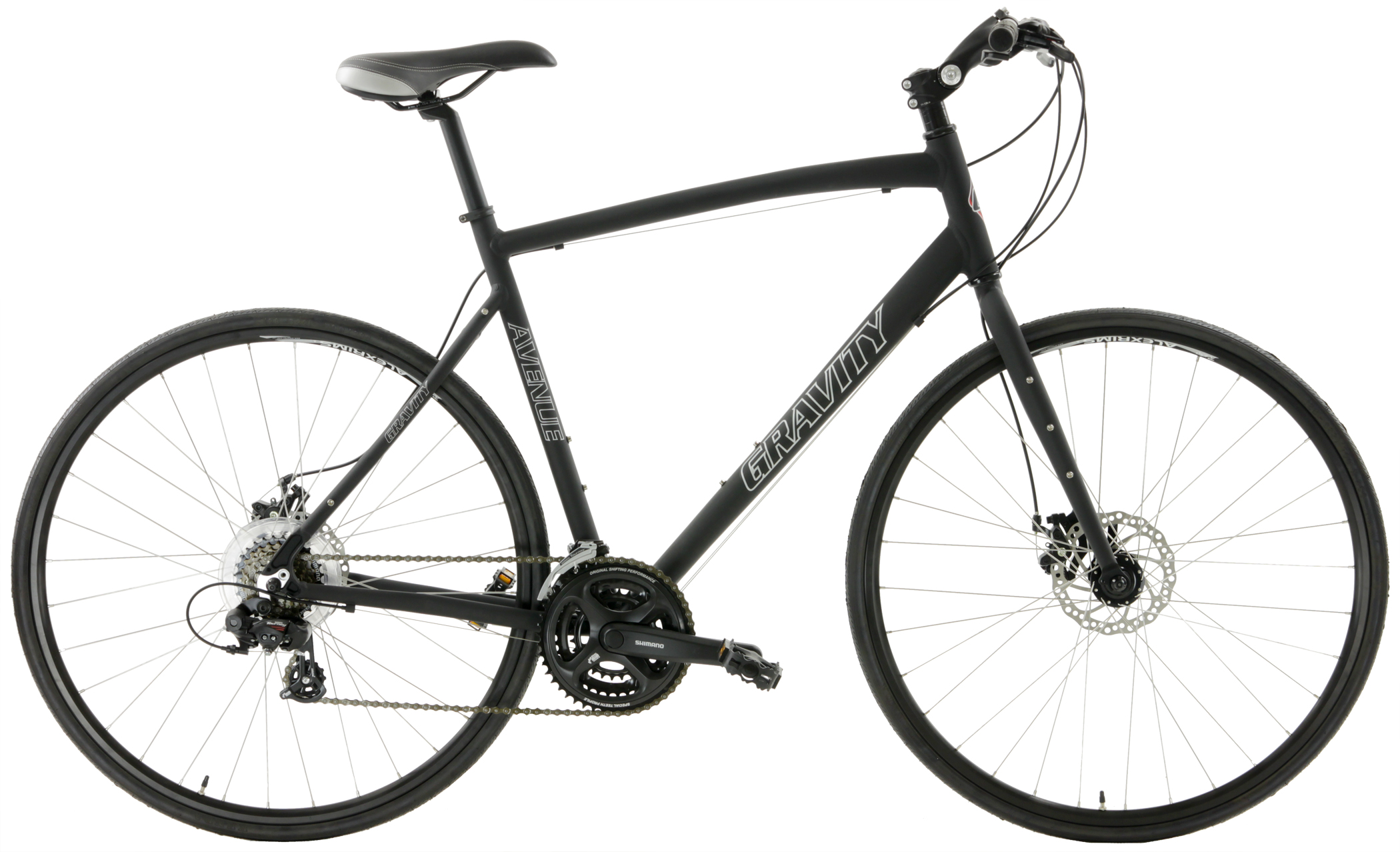 AVENUE FXD - SHIMANO 21sp FLAT-BAR  w/ DISC BRAKES