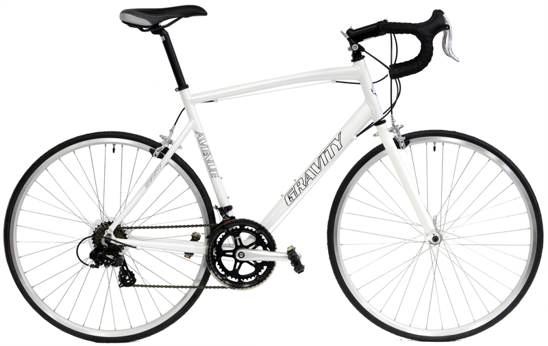 AVENUE A      - ALUMINUM 14sp ROAD BIKE w/ SHIMANO