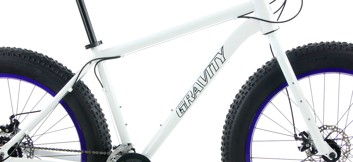 BULLSEYE MONSTER LTD       - ALUMINUM FAT BIKE w/ DISC BRAKES & CUSTOM RIMS