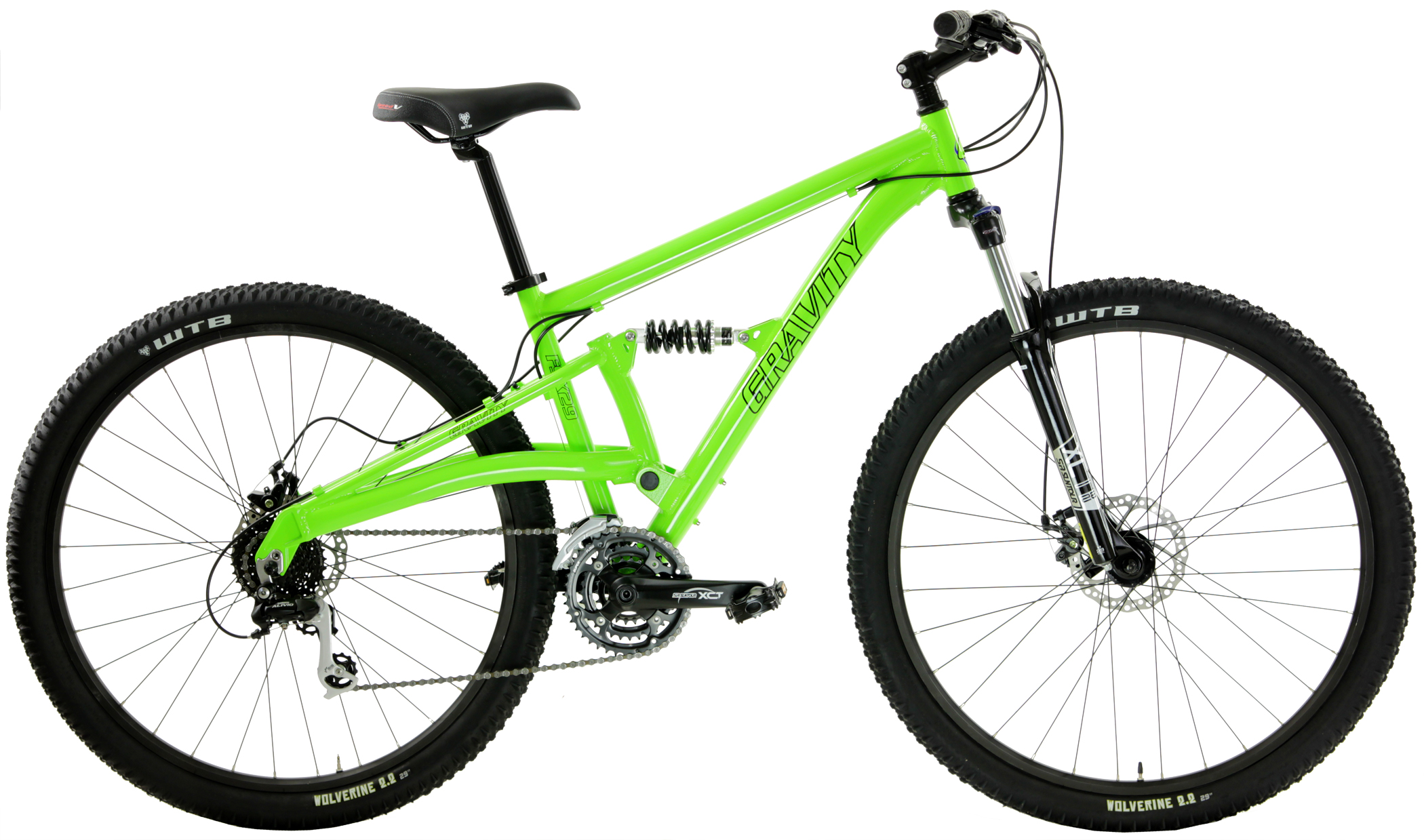 FSX 29 LTD - SHIMANO 24sp FULL SUSPENSION 29'er w/ DISC