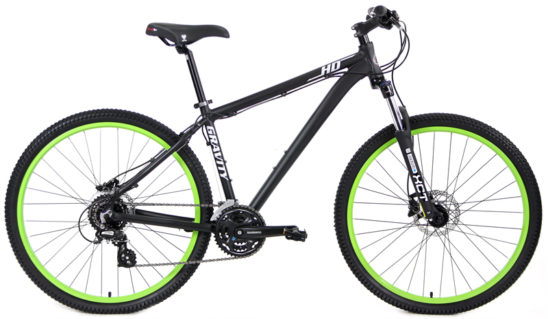 HD 27.5 ELITE - 27.5in SHIMANO 24sp w/ HYDRAULIC DISC BRAKES