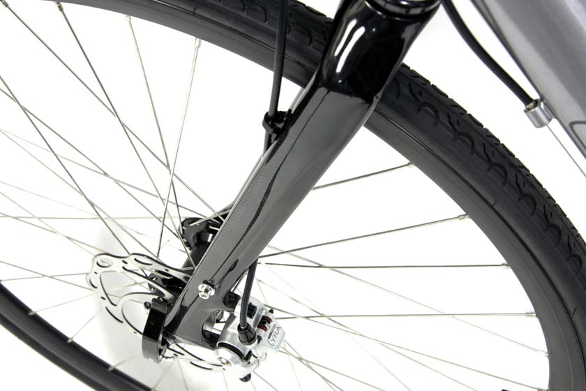 LIBERTY FB - 21sp SHIMANO ALUMINUM FLAT BAR BIKE w/ CARBON FORK