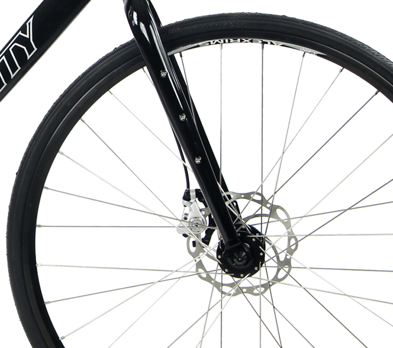 VANQUISH - SINGLE SPEED GRAVEL ROAD BIKE & DISC BRAKES