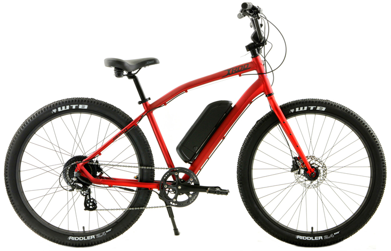 X-ROD eBIKE - eBIKE HYBRID w/ 27.5in WHEELS & DISC BRAKES