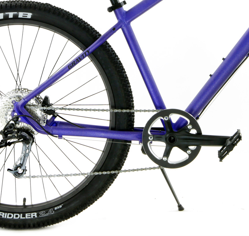 X-ROD 9 - ADVENTURE BIKE w/ 27.5in WHEELS & HYDRAULIC BRAKES