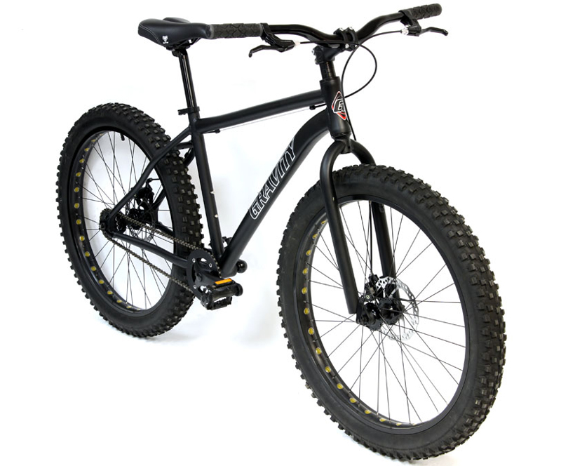 828ab65643e FAT BIKES! An ingeniously simple concept. Giant tires equals more control  in loose conditions. (see, I told you it was simple)
