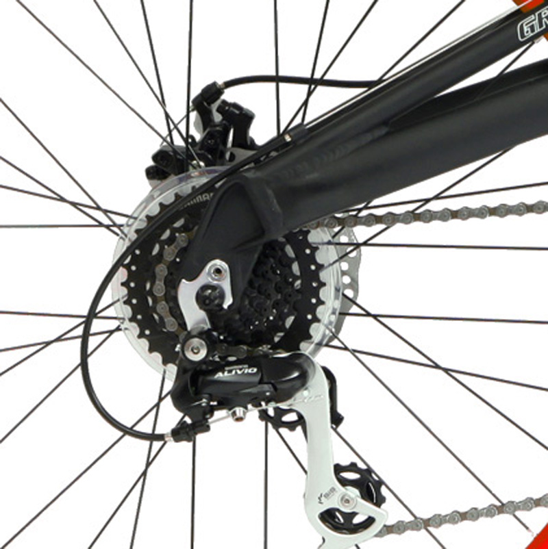 FSX 2.0 - FULL SUSPENSION ALUMINUM 24sp SHIMANO & DISC BRAKE