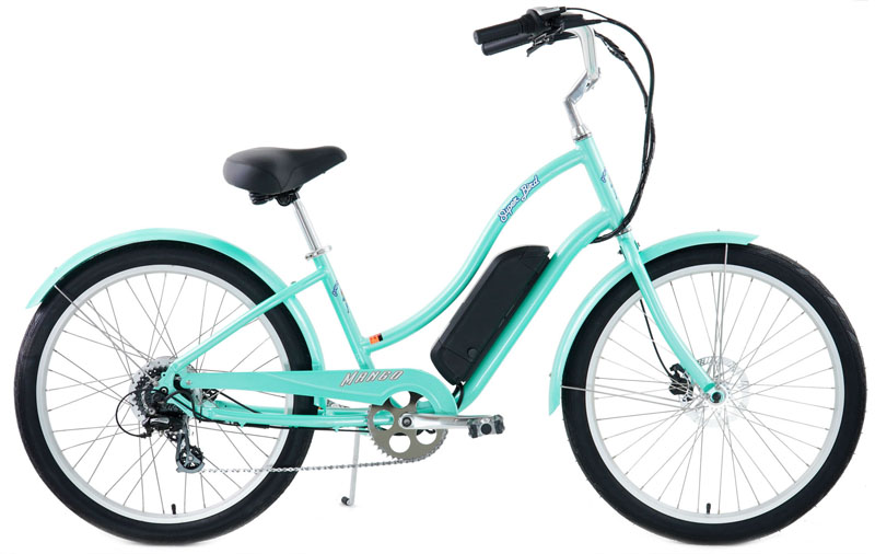 SUPERBIRD eBIKE - WOMENS eCRUISER w/ 8 SPEEDS