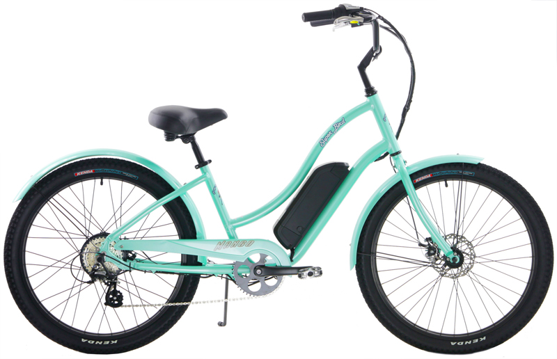 SUPERBIRD LADIES eBIKE - eCRUISER w/ 8 SPEEDS