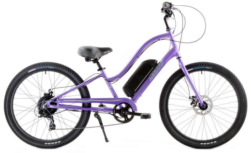 eKEYS 7 LADIES eBIKE - eCRUISER w/ 7 SPEEDS