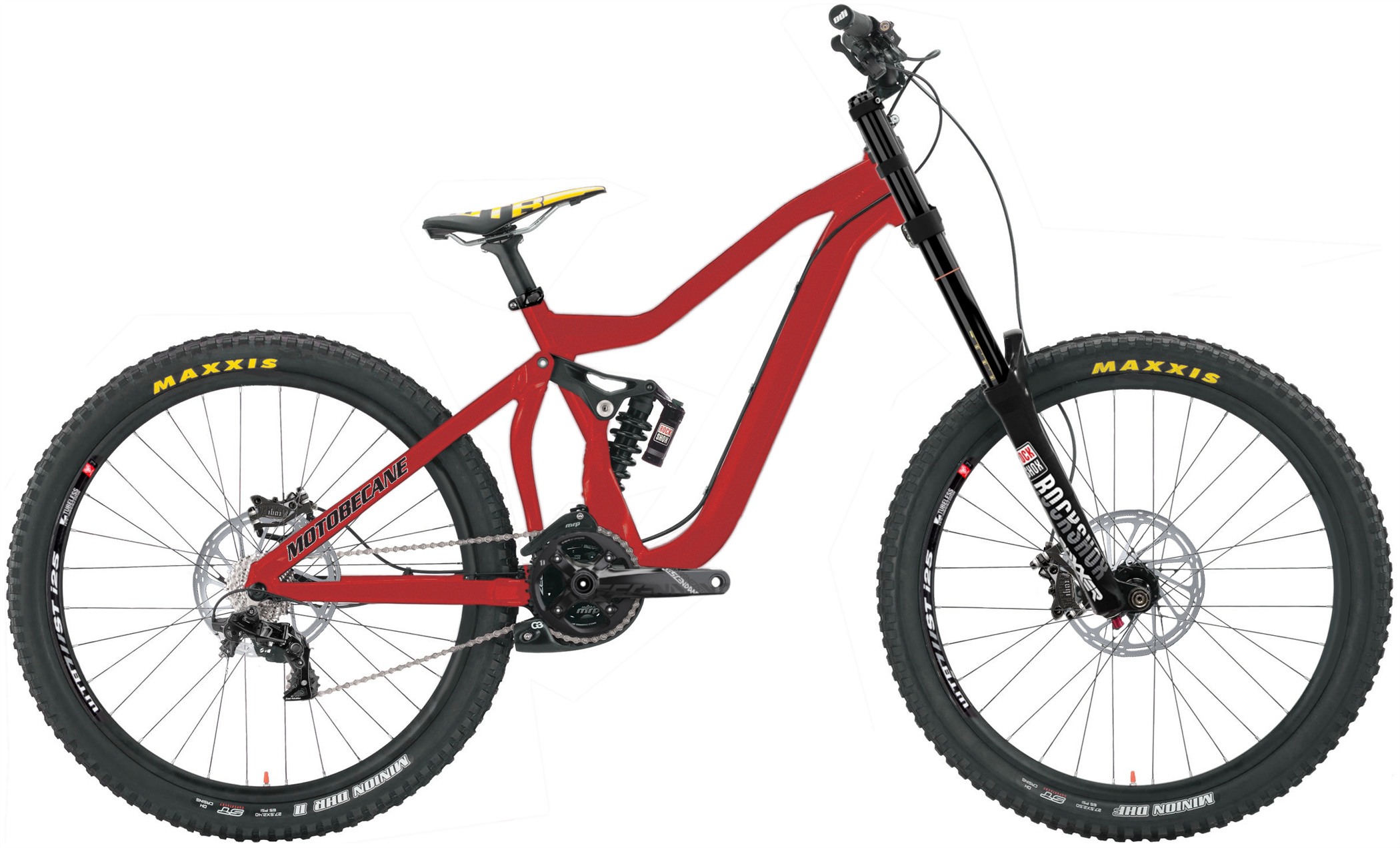 2Hundred7 - SRAM EQUIPPED DOWNHILL BIKE w/ MASSIVE CLEARANCE