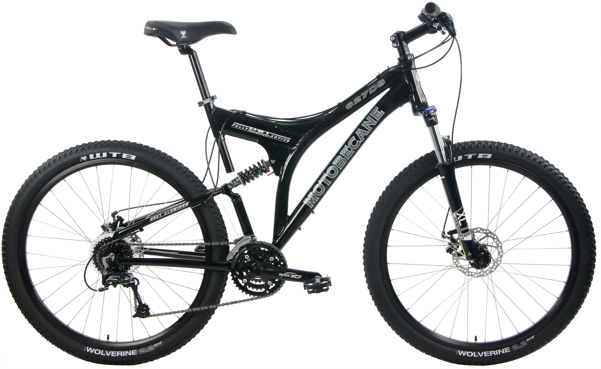 627DS - ALUMINUM FULL SUSPENSION w/ DISC BRAKES & SHIMANO