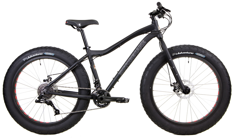 BORIS X5  - FAT BIKE w/ DISC BRAKES