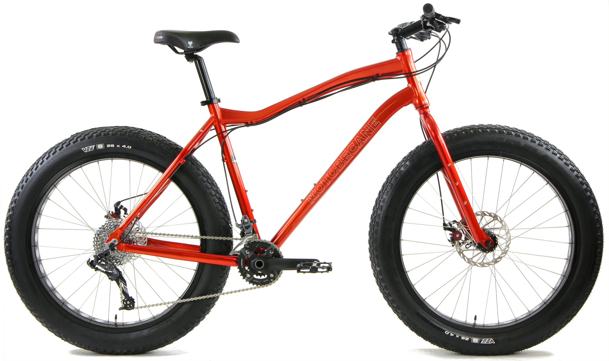 BORIS X7 - FAT BIKE w/ AVID DISC BRAKES