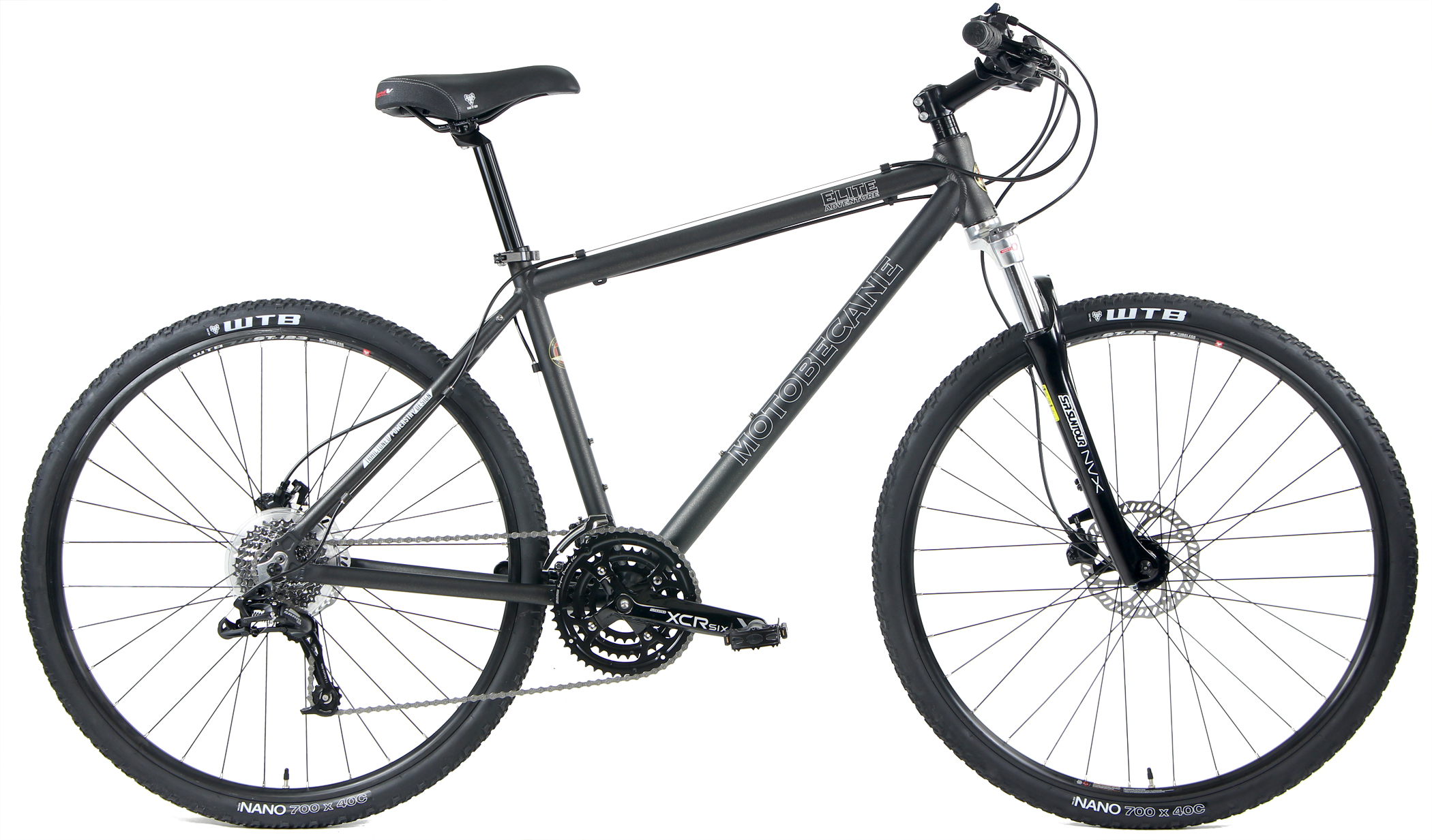 ELITE ADVENTURE X5 LTD - SRAM ALUMINUM 27sp w/ HYDRAULIC DISC BRAKES