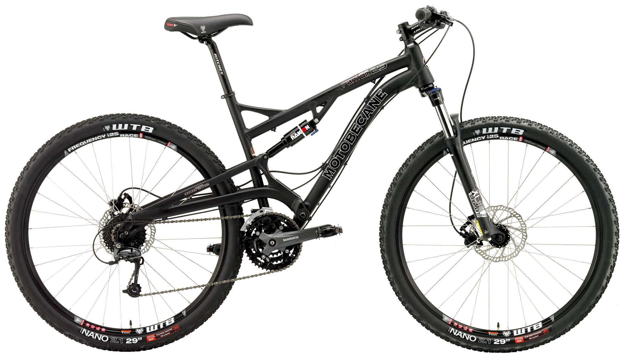 FANTOM DS TRAIL  - FULL SUSPENSION w/ HYDRAULIC DISC BRAKES