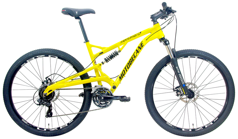 FANTOM DS X24 - FULL SUSPENSION w/ DISC BRAKES