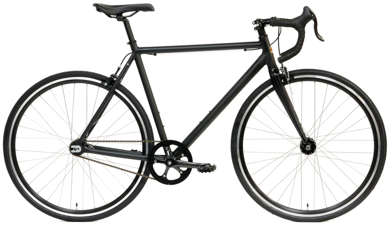 FIXIE RECORD CF - SINGLE SPEED ROAD BIKE w/ CARBON FORK