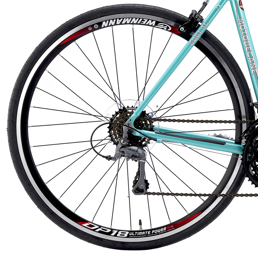 GIGI TOUR - WOMEN'S FLAT BAR ROAD w/ CARBON FORK & SHIMANO