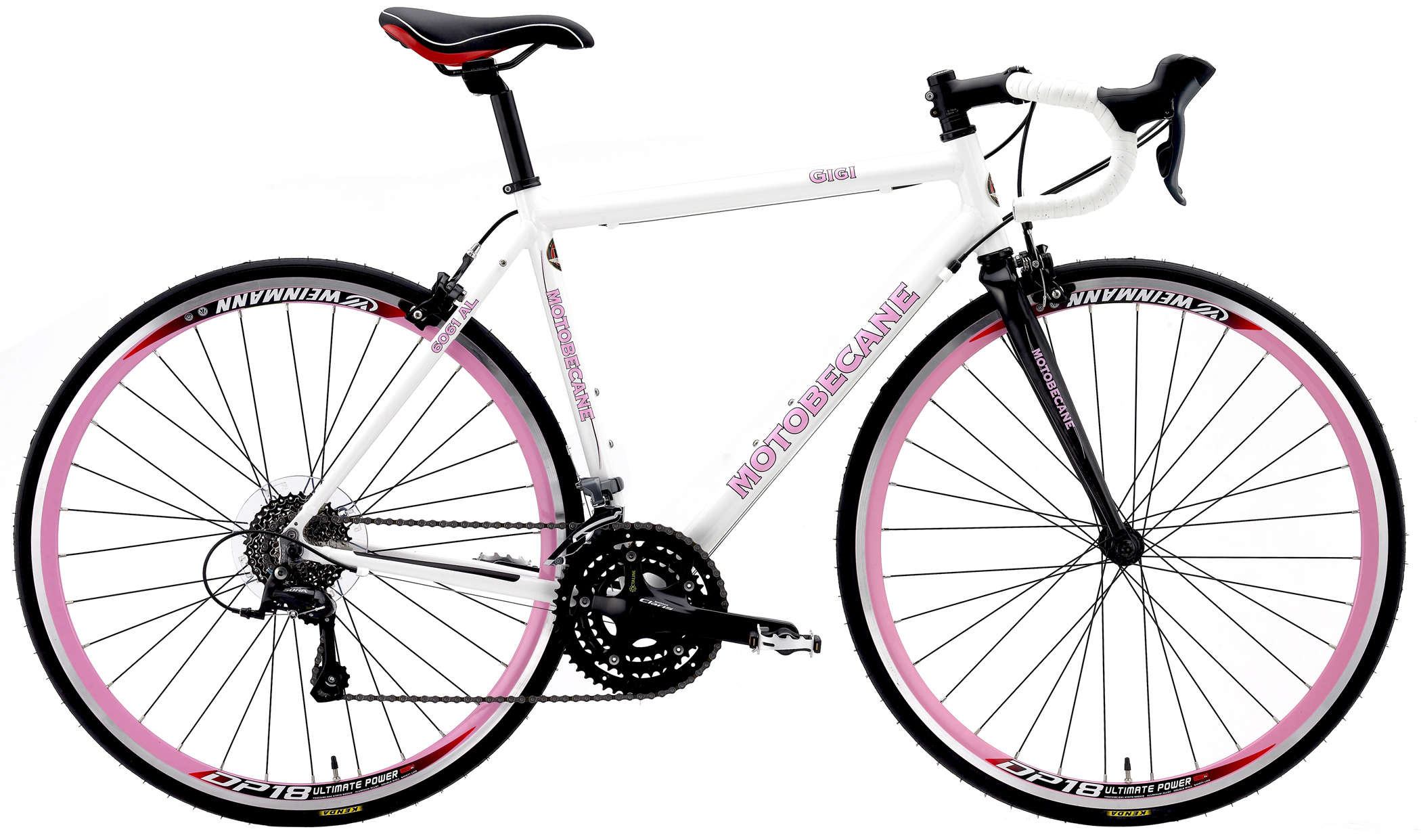 GIGI COMP - WOMEN'S ROAD BIKE w/ CARBON, SHIMANO STI