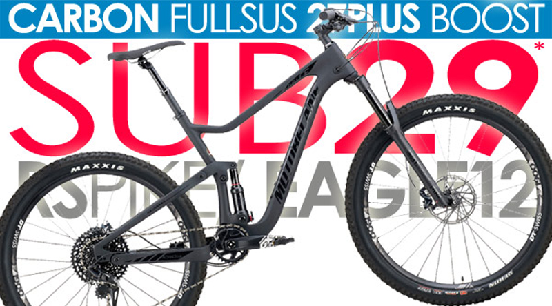 HAL CF BOOST 27Plus - SRAM EAGLE SHIFT, BOOST™ SPACING, 1x12