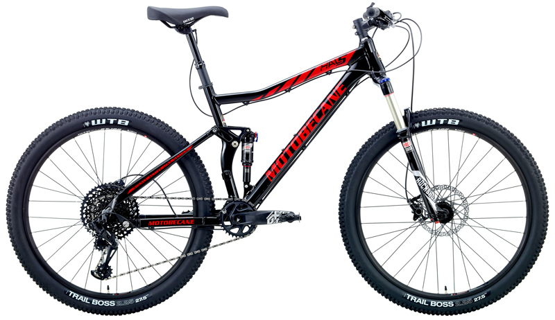 HAL5 EAGLE Ltd - DUAL SUSPENSION w/ 27.5 (650b) WHEELS & SRAM
