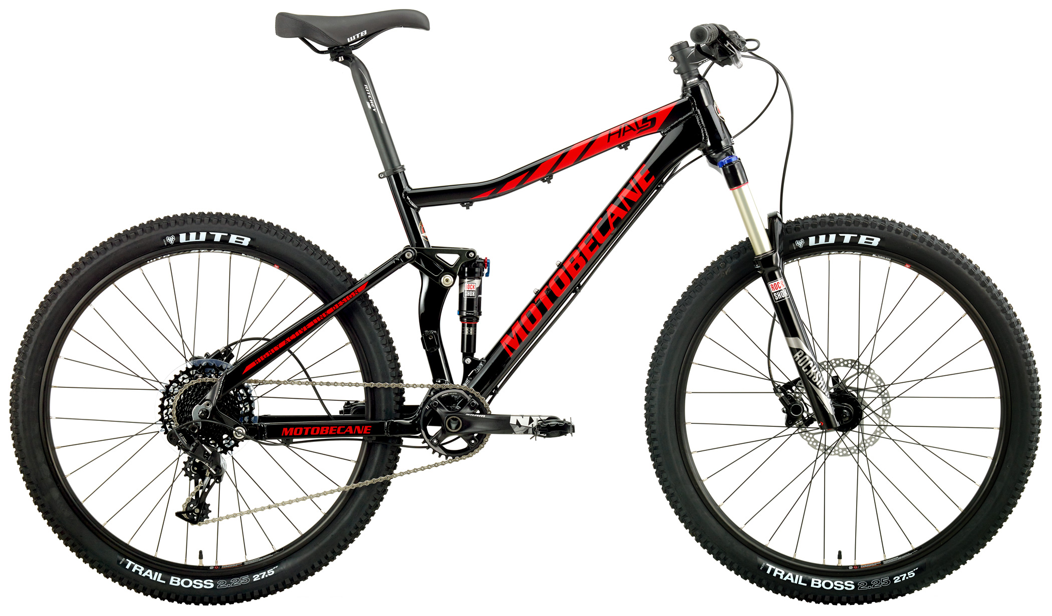 HAL5 NX - DUAL SUSPENSION w/ 27.5 (650b) WHEELS & SRAM