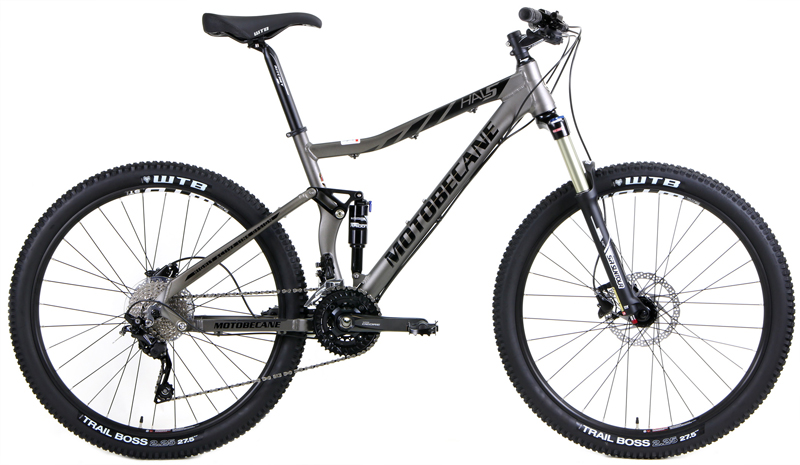 HAL5 TRAIL - DUAL SUSPENSION w/ 27.5 (650b) WHEELS & SHIMANO