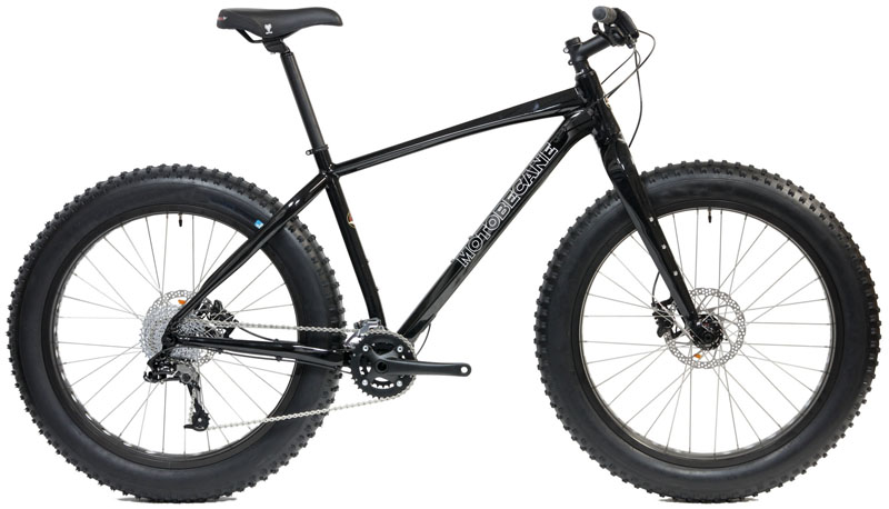 NIGHTTRAIN     - ALUMINUM FAT BIKE w/ HYDRAULIC DISC BRAKES