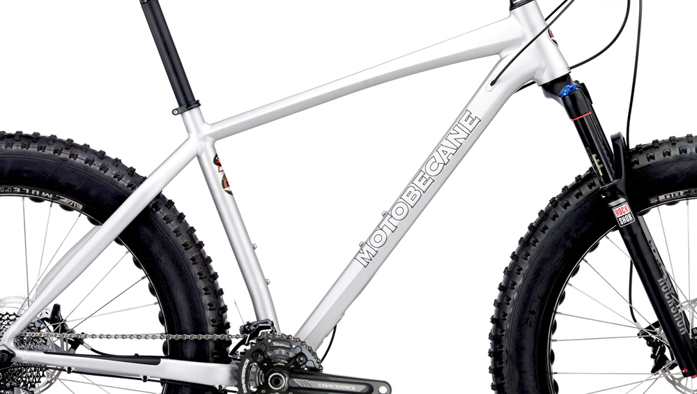 NIGHTTRAIN BULLET 2016 - ALUMINUM FAT BIKE w/ DISC BRAKES & ROCK SHOX