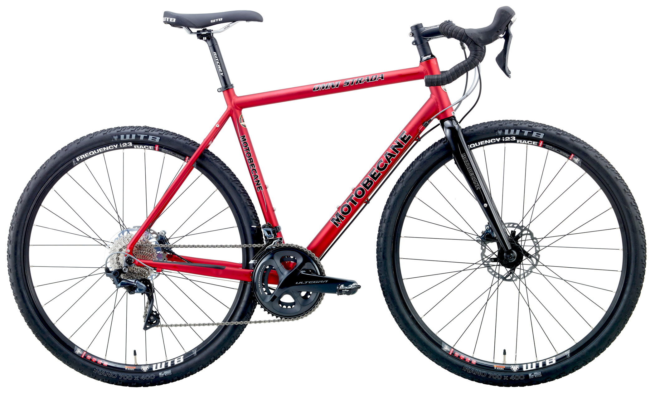 OMNI STRADA PRO - SHIMANO ULTEGRA EQUIPPED GRAVEL BIKE