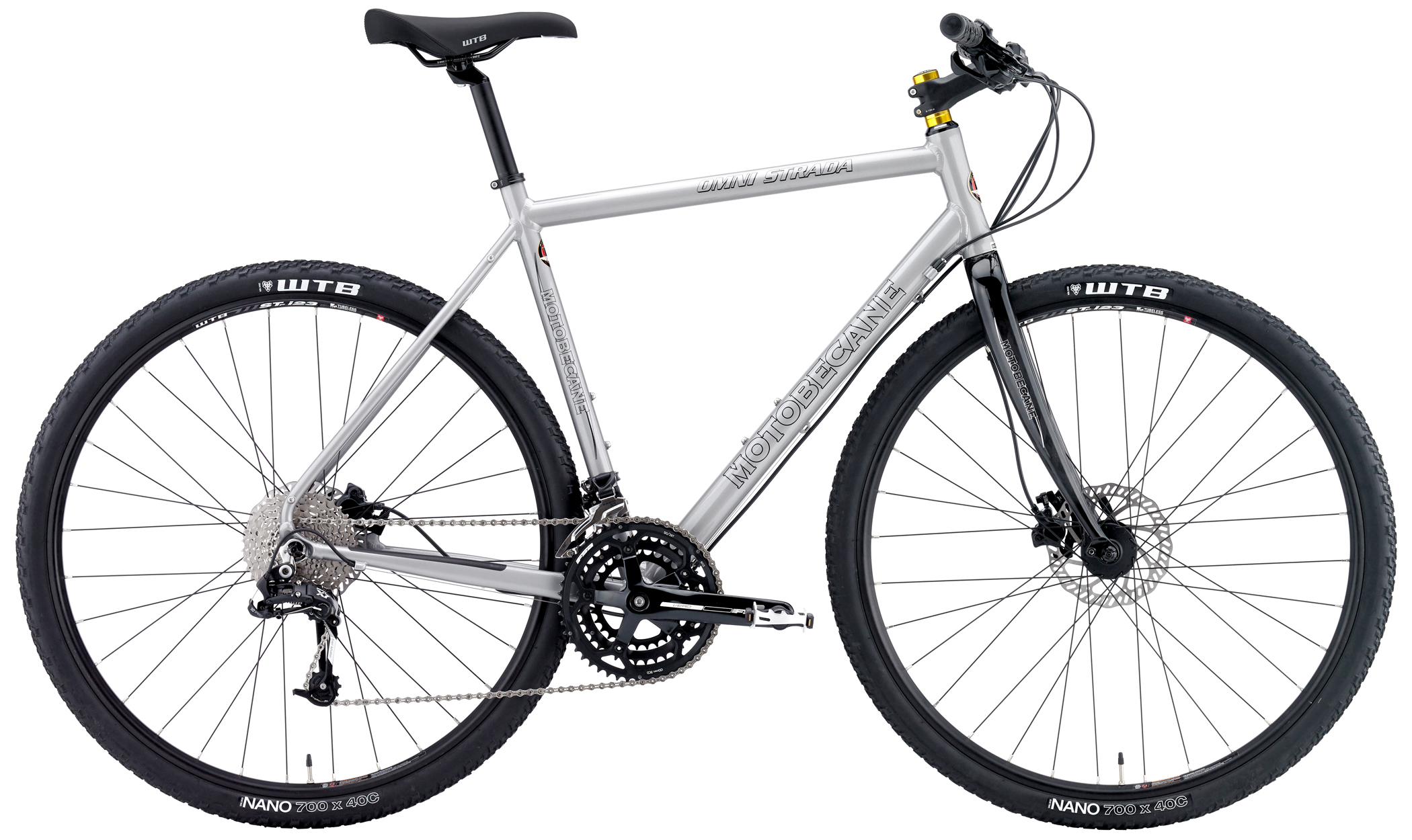 OMNI STRADA TRAIL - ALUMINUM FLAT-BAR GRAVEL BIKE