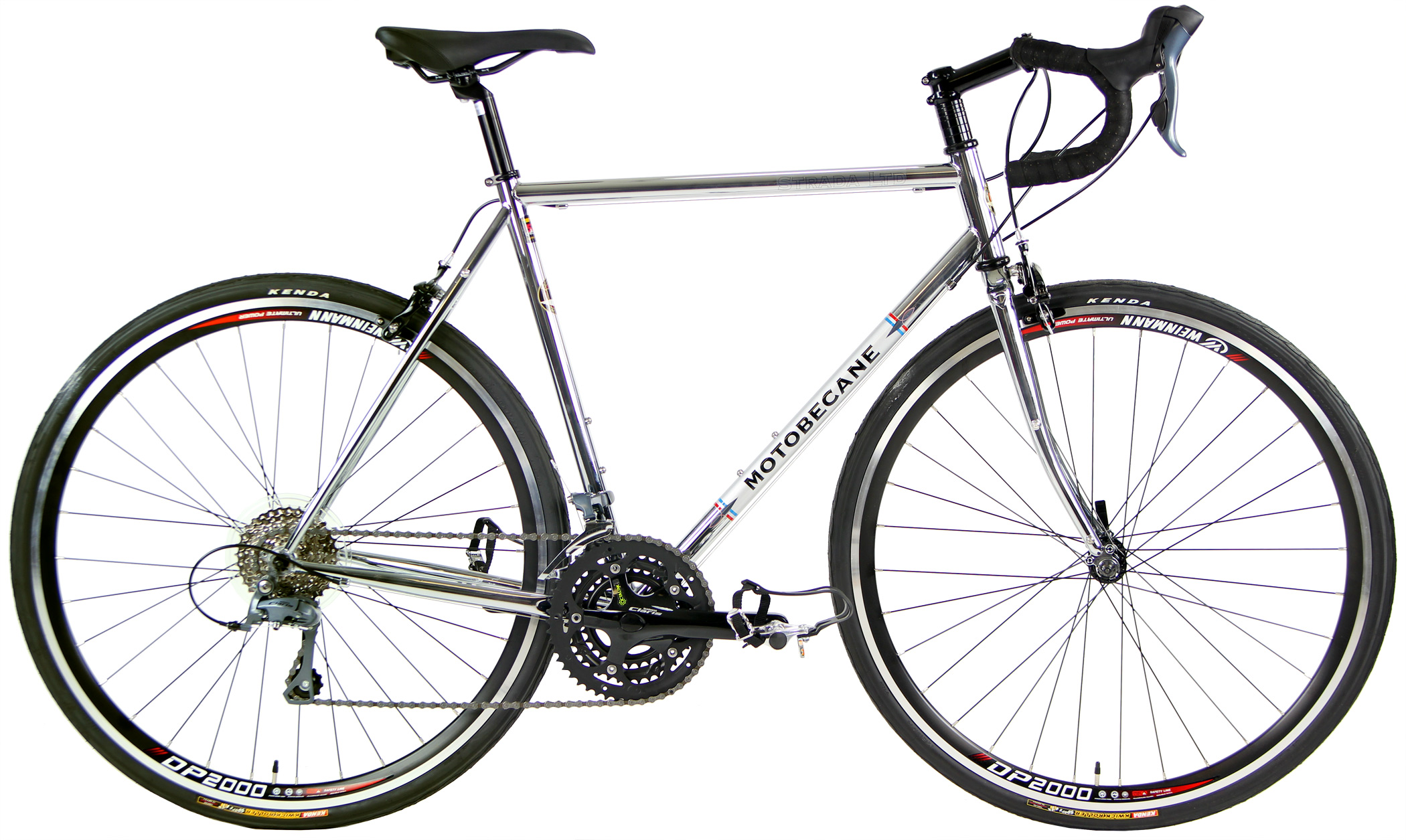 STRADA ltd 1.0 CHROME     - CHROMOLY ROAD BIKE 24sp